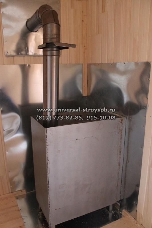 Печка для бани сделать видео
