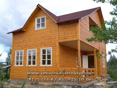 Деревянные дома брус